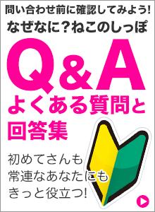 「なぜなに?ねこのしっぽ」Q&Aよくある質問と回答集